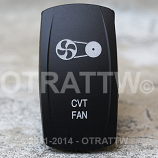 CONTURA V, CVT FAN, UPPER DEPENDENT LED ONLY