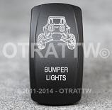 CONTURA V, RZR BUMPER LIGHTS, ROCKER ONLY