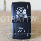 CONTURA XIV, JEEP TJ REAR LIGHTS, LOWER LED INDEPENDENT