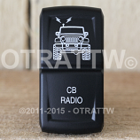 CONTURA XIV, JEEP JK CB RADIO, LOWER LED INDEPENDENT