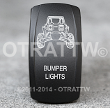 CONTURA V, RZR BUMPER LIGHTS, LOWER LED INDEPENDENT