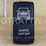 CONTURA XIV, JEEP GRAND CHEROKEE BUMPER LIGHT BAR, ROCKER ONLY