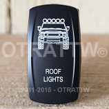 CONTURA V, FJ CRUISER ROOF LIGHTS, UPPER DEPENDENT LED ONLY