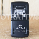 CONTURA XIV, FORD F-150 LED LIGHT BAR, UPPER DEPENDENT LED ONLY