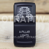 CONTURA XIV, RZR A-PILLAR LIGHTS, LOWER LED INDEPENDENT