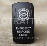 CONTURA V, EMERGENCY RESPONSE LIGHTS, ROCKER ONLY