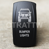 CONTURA V, JEEP GRAND CHEROKEE BUMPER LIGHTS, UPPER DEPENDENT LED ONLY
