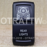 CONTURA XIV, JEEP JK REAR LIGHTS, ROCKER ONLY