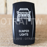 CONTURA V, FJ CRUISER BUMPER LIGHTS, UPPER LED INDEPENDENT