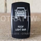 CONTURA V, DODGE RAM ROOF LIGHT BAR, ROCKER ONLY