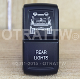 CONTURA XIV, JEEP GRAND CHEROKEE REAR LIGHTS, UPPER DEPENDENT LED ONLY