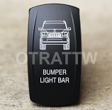 CONTURA V, JEEP GRAND CHEROKEE BUMPER LIGHT BAR, UPPER DEPENDENT LED ONLY