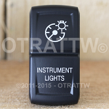 CONTURA XIV, INSTRUMENT LIGHTS, UPPER LED INDEPENDENT