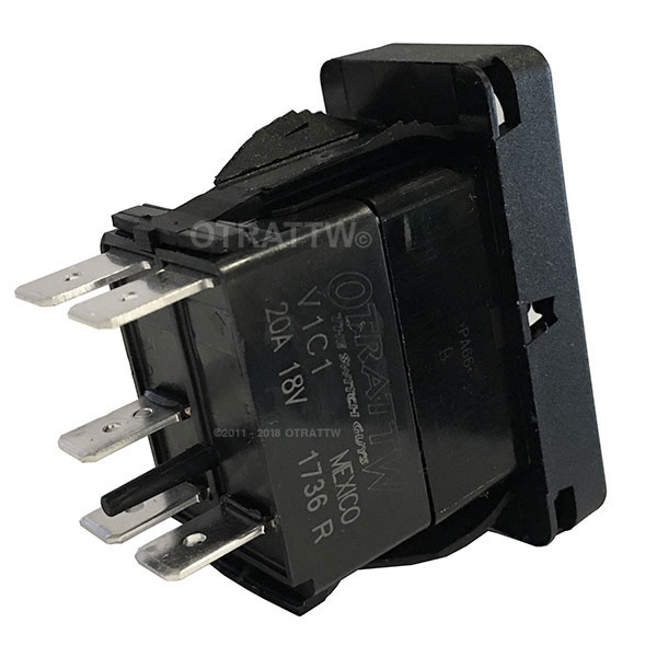 High Quality Otrattw Contura X  Xi  And Xii Raised Based  Imprinted Sealed Rocker Switches