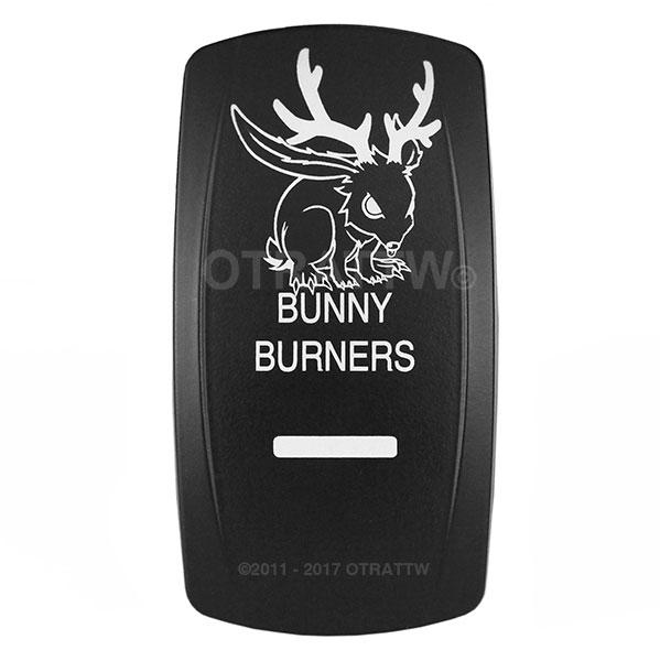 Bunny Burners Logo Jeep TJ Rocker Switch