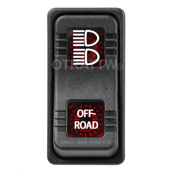High Quality Otrattw Contura X And Xi Raised Based  Imprinted Sealed Rocker Switches