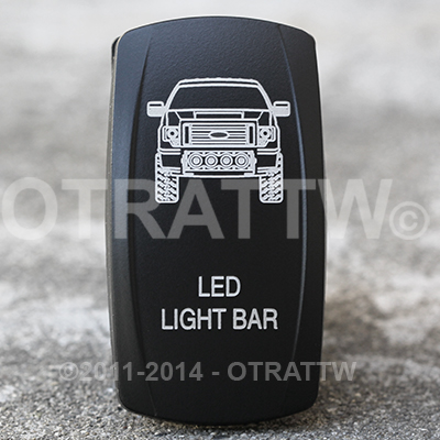 Otrattw the standard in high quality custom rocker switches contura v ford f 150 led light bar upper led independent aloadofball Image collections