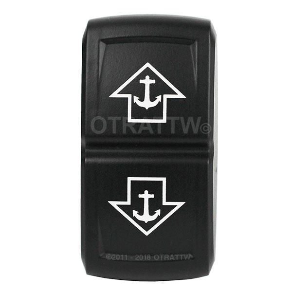 OTRATTW Carling Technologies Contura II Rocker only WHITE LENS ANCHOR LIGHT